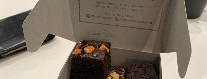 Brownies Bar by the accidental bakers is one of Kuala Lumpur.