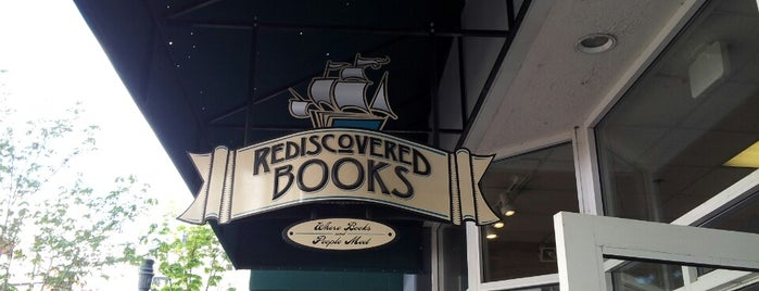 Rediscovered Bookshop is one of Boise Trip.