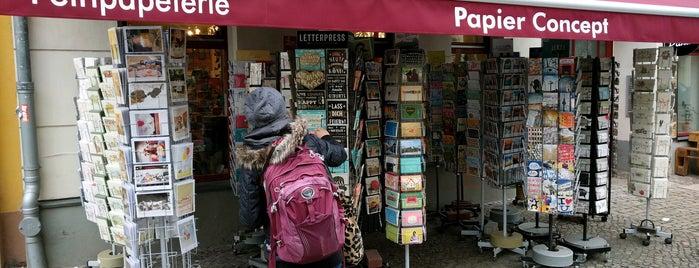 Papier Concept is one of Berlin.