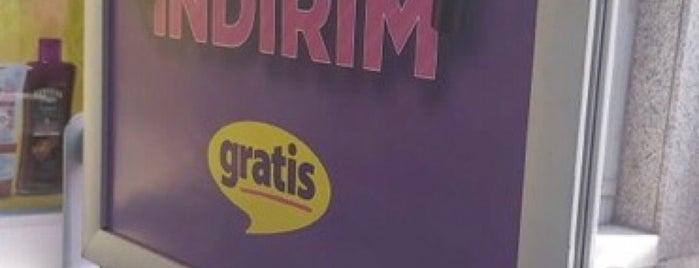 Gratis is one of Veni Vidi Vici İzmir 2.