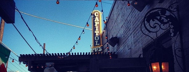 Capitol Pub is one of Outdoor Bars in Dallas.