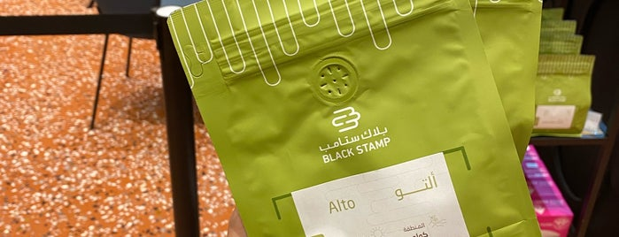 BLACK STAMP COFFEE ROASTER is one of Cafes.
