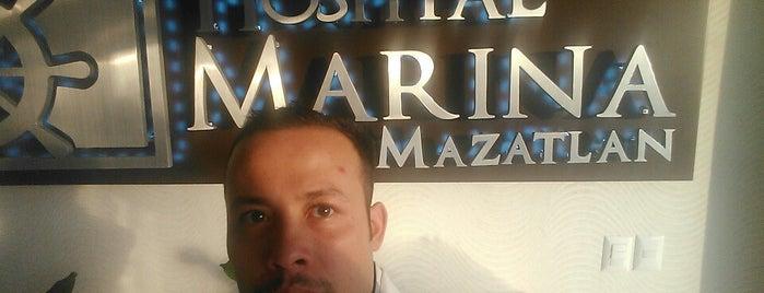 Hospital Marina Mazatlán is one of Tempat yang Disukai c.