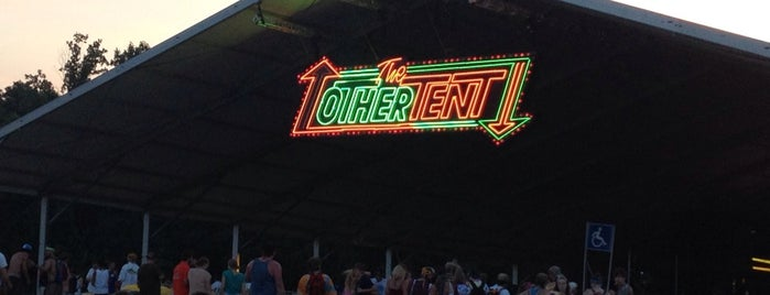 Other Tent at Bonnaroo Music & Arts Festival is one of All-time favorites in United States.