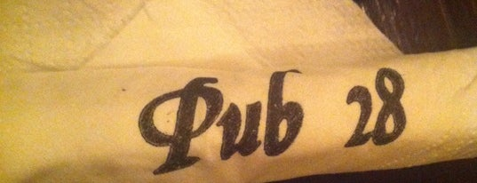 Pub 28 is one of Favorite Drinking Places.