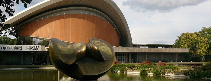 Haus der Kulturen der Welt is one of 建築マップ ヨーロッパ.