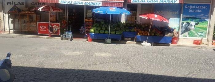 Milas Gıda is one of Orte, die Mehmet gefallen.