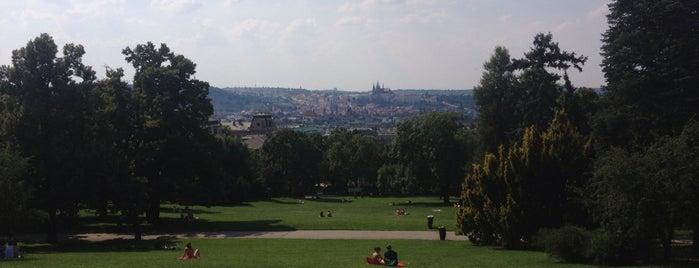 Риегровы сады is one of Prague.