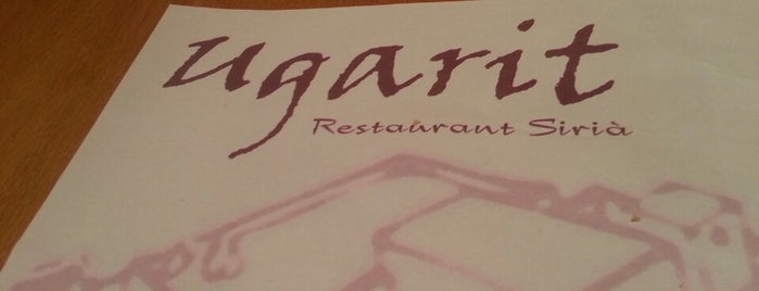 Ugarit is one of Kebab, shawarma, döner, etc....
