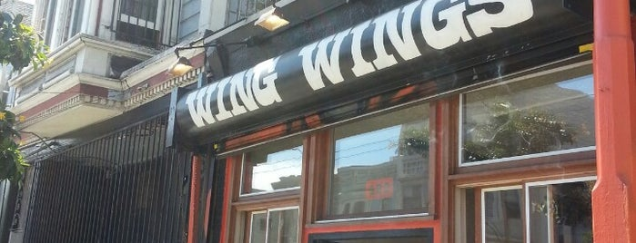 Wing Wings is one of Late Night San Francisco.