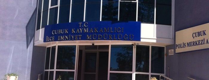 Çubuk İlçe Emniyet Müdürlüğü is one of สถานที่ที่ •slnaras• ถูกใจ.