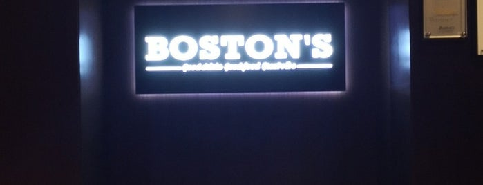 Boston's is one of Doha must.