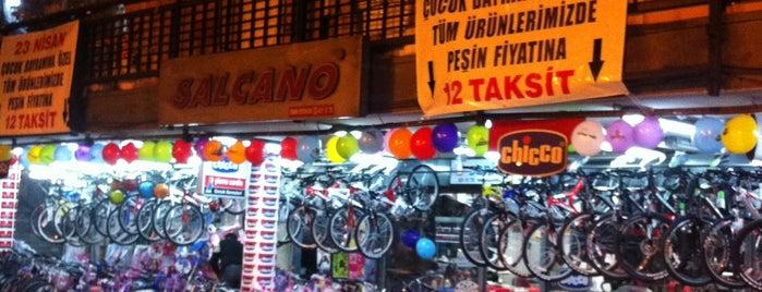 Bisikletçiler Çarşısı is one of R.Sema'nın Beğendiği Mekanlar.