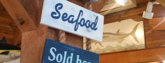 Brewsters Seafood Market is one of The Hamptons.