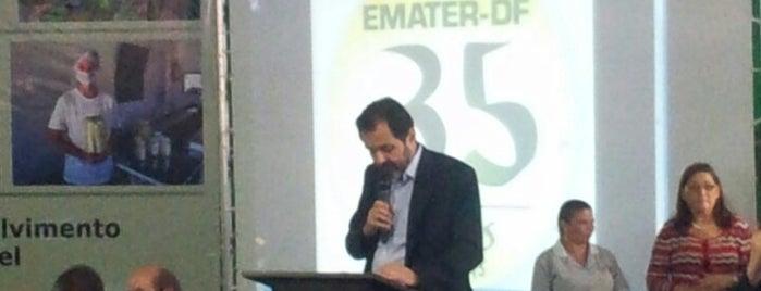 EMATER-DF is one of Rafael'in Beğendiği Mekanlar.