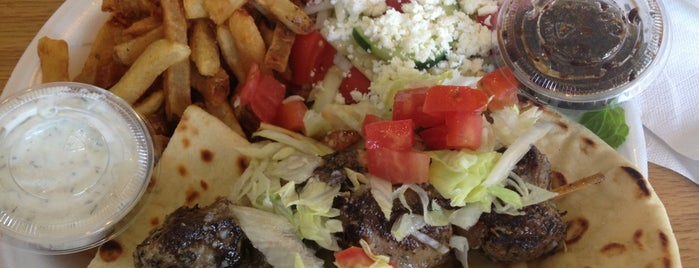 Gyro Bros is one of 4 Best Mediterranean Restaurants in Atlanta.