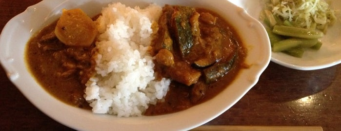 宇宙カレー is one of TOKYO-TOYO-CURRY 3.