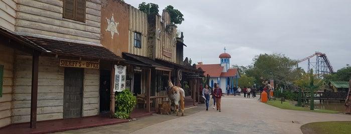 Velho Oeste is one of Beto Carrero World.