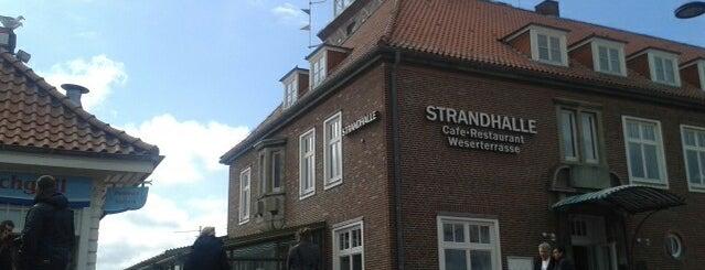 Strandhalle Bremerhaven is one of Posti che sono piaciuti a Elisabeth.