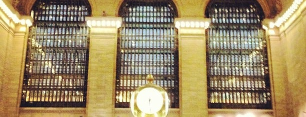 Grand Central Terminal is one of Places I have been to.