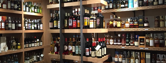 Flatiron Wine and Spirits is one of SF.