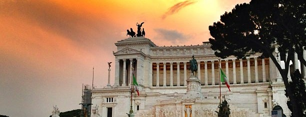 Piazza Venezia is one of Rome.