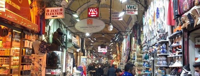 Grand Bazaar Kapali Carsi is one of Shopping turkey.