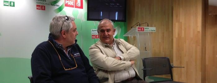 PSOE de Málaga is one of PSOE de Málaga'nın Beğendiği Mekanlar.
