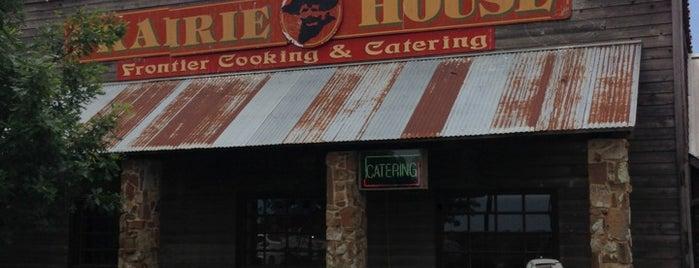 Prairie House Restaurant is one of Locais salvos de Liz.