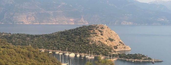Gemiler Adası is one of Fethiye koylar&beachler 🧜🏼♀️.
