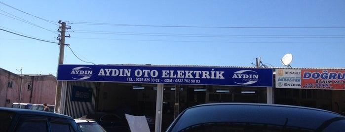 Aydın Oto Elektrik&Elektronik ozel servis is one of Locais curtidos por Faruk.