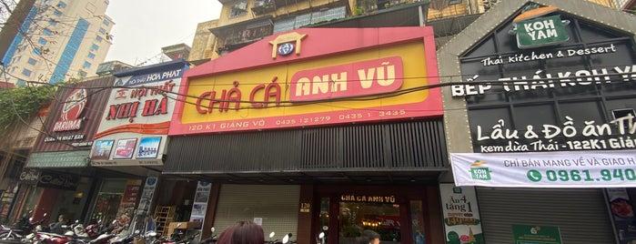 Chả cá Anh Vũ is one of vietnam.