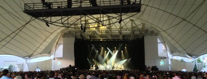 Rockland Trust Bank Pavilion is one of Live Nation Venues.