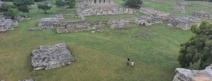 Zona Arqueológica de Mayapán is one of Orte, die Edwin gefallen.