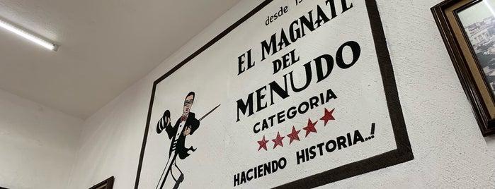 El Magnate del Menudo is one of Ricardo'nun Kaydettiği Mekanlar.