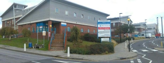Newham General  Hospital is one of Paul'un Beğendiği Mekanlar.