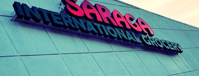 Saraga International Grocery is one of Columbus International Markets.