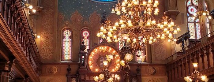 Eldridge Street Synagogue is one of New York.