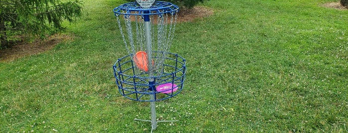 Penn State Behrend Disc Golf Course DGC is one of Fun in time of Covid.