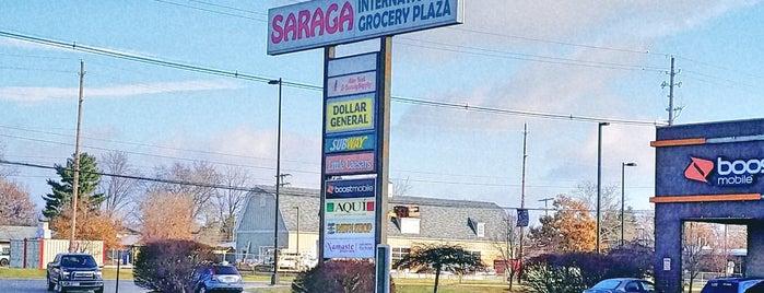 Saraga International Grocery Plaza is one of Columbus International Markets.