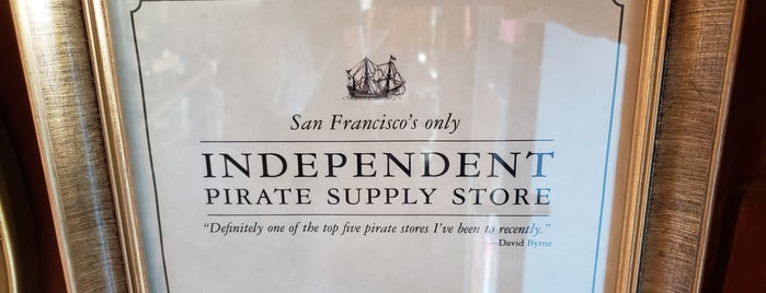 Pirate Supply Store is one of San Francisco Dos.