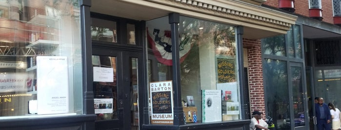 Clara Barton Missing Soldiers Office Museum is one of Internet Part 3.