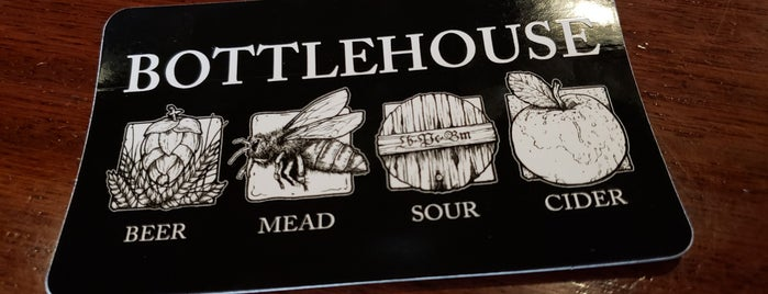 The BottleHouse Brewing Co Tasting Room and Mead Hall is one of Tempat yang Disimpan Melanie.