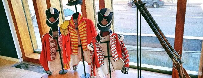 Niagara Falls History Museum is one of Locais salvos de Arnoldo.