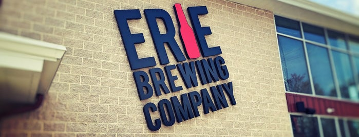 Erie Brewing Company is one of Lizzieさんの保存済みスポット.