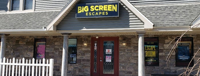 Big Screen Escapes is one of Poconos.