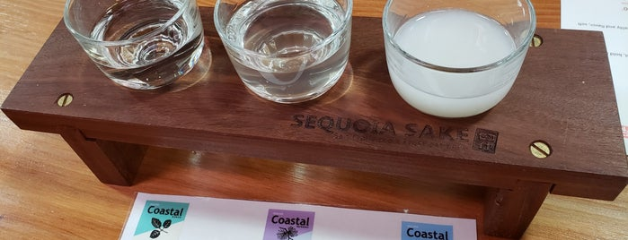 Sequoia Sake Company is one of San Francisco Dos.