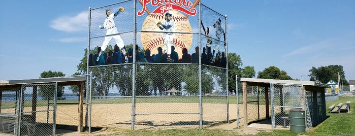 Pontiac Field is one of Trail of Shared Heritage.