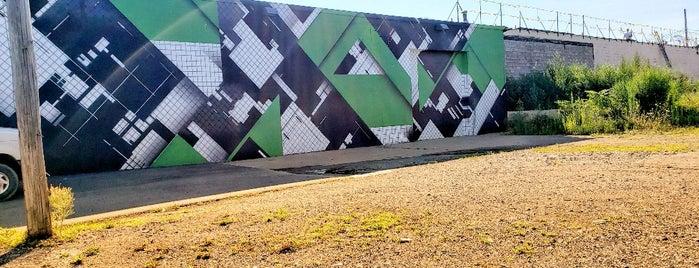 General Tire mural by Zedz is one of Murals of Erie.