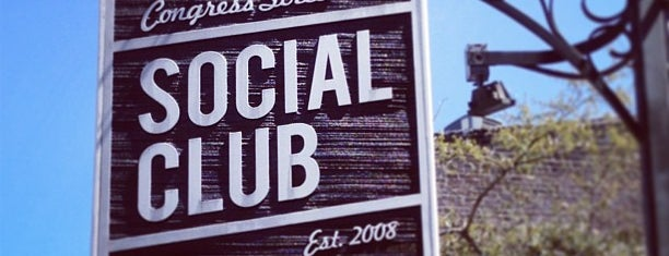 Congress Street Social Club is one of Savannah.